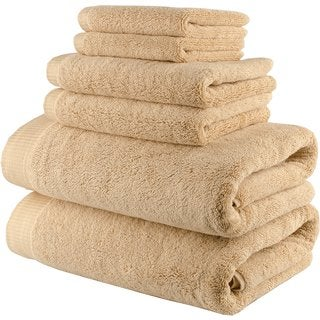 Lunasidus Odessa Turkish Cotton 750 GSM Luxury 6-piece Towel Set