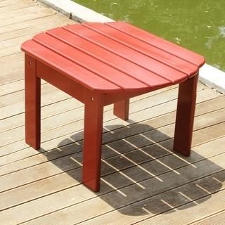 Alston Red Mahogany Adirondack Side Table