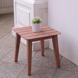 Cambridge Casual Astoria Mahogany Wood Side Table