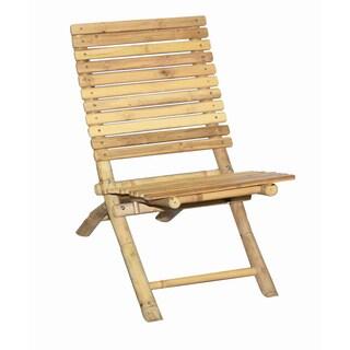 Handmade Bamboo Slat Folding Chair (Vietnam)