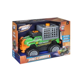 Road Rippers T-Rex Dino Hauler Multicolor Plastic Light and Sound Vehicle
