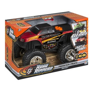 Road Rippers Bigfoot Plastic 10-inch Monster Remote Control Truck