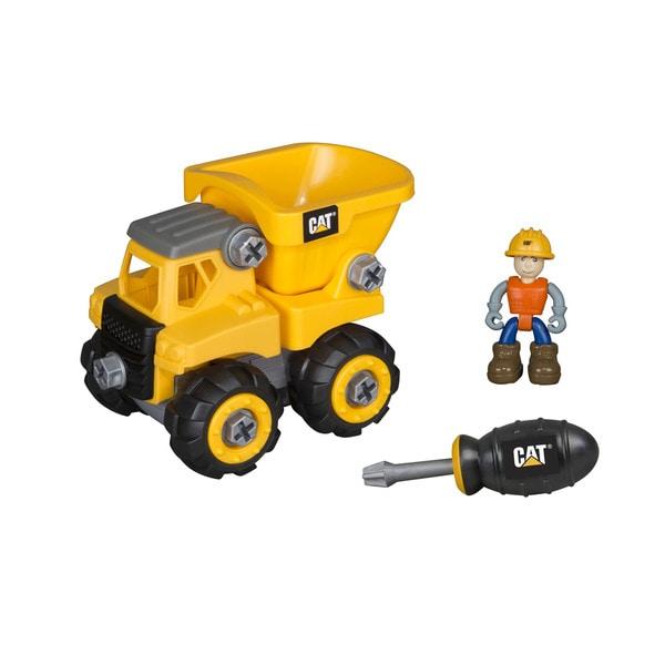 Caterpillar Junior Operator Dump Truck Construction Vehicle Toy