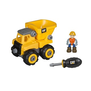 Caterpillar Junior Operator Dump Truck Construction Vehicle Toy