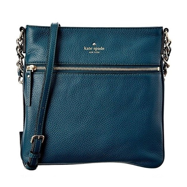 Kate Spade Cobble Hill Ellen Emerald Forest Crossbody Handbag