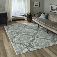 "Momeni Brooklyn Heights Polyester and Polypropylene Ivory Are Rug - 9'3"" x 12'6"""