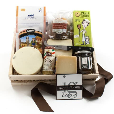 igourmet Authentic Flavors of Italy Gift Crate