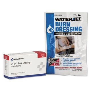 First Aid Only SmartCompliance White 4 x4 Refill Burn Dressing