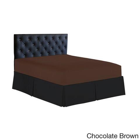 Elegant Comfort Luxury Wrinkle Resistant Single Fitted Sheet