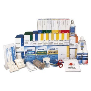 First Aid Only 4 Shelf ANSI Class B+ Refill with Medications, 1427 Pieces