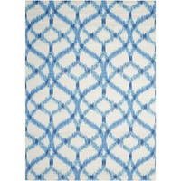 """Waverly Sun N' Shade Aegean Indoor/ Outdoor Area Rug by Nourison (8'6 x 8'6) - multi - 8'6"""" x 8'6""""square"""