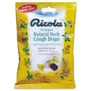 Ricola Cough Drops, Natural Herb, 21 Drops/Bag