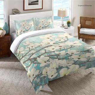 Laural Home Flowering Dogwood Blossoms Standard Sham
