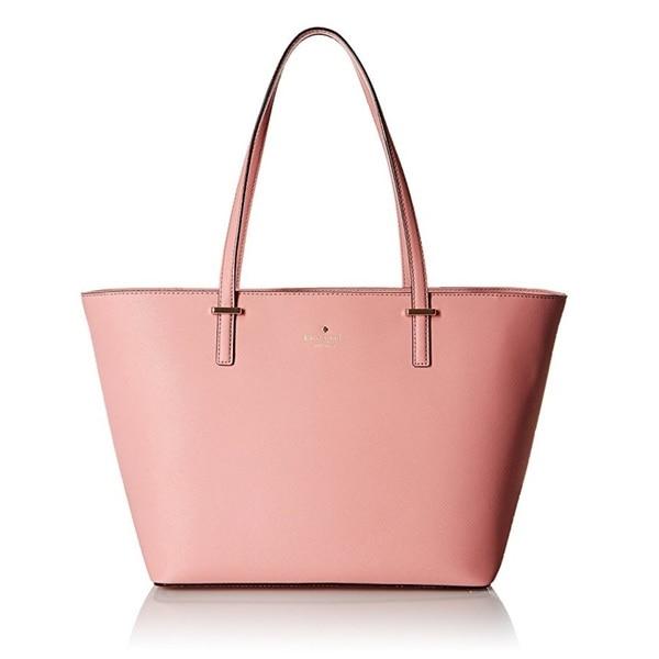 Kate Spade Cedar Street Small Harmony Pink Bonnet Tote Bag
