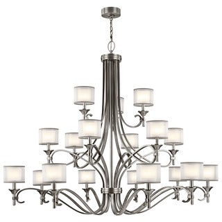 Kichler Lighting Lacey Collection 18-light Antique Pewter Chandelier