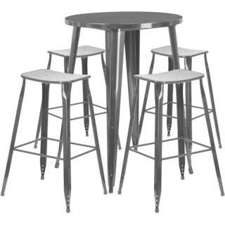 30 inch Round Metal Bar Set