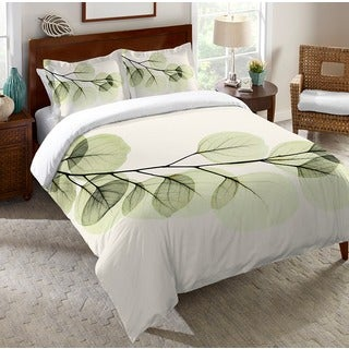 Laural Home X-Ray Leaf Standard Sham