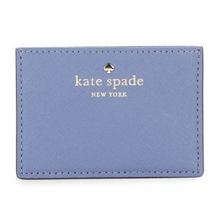 Kate Spade New York Cedar Street Oyster Blue Card Holder