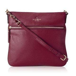 Kate Spade Cobble Hill Ellen Merlot Crossbody Handbag