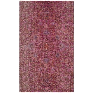 Safavieh Artisan Vintage Bohemian Fuchsia Pink Distressed Rug (3' x 5')