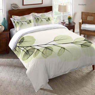Laural Home X-Ray Leaf Comforter