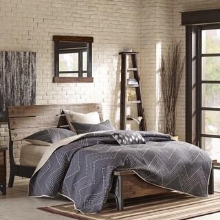 INK+IVY Lancaster Amber/Graphite King Bed