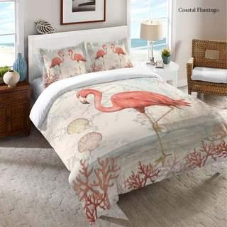 Laural Home Flamingo Comforter