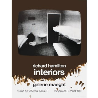 Richard Hamilton 'Interiors' 1981 Poster, 31.5 x 23.5 inches