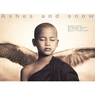 Gregory Colbert 'Winged Monk' 2005 Poster, 36 x 50 inches