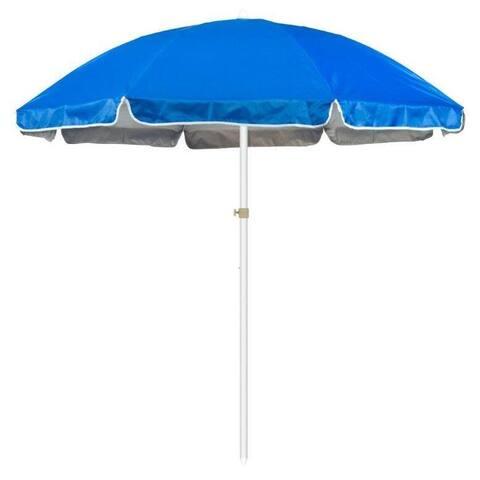 Beach and Sports Ocean Blue 6.5-ft. Portable Umbrella
