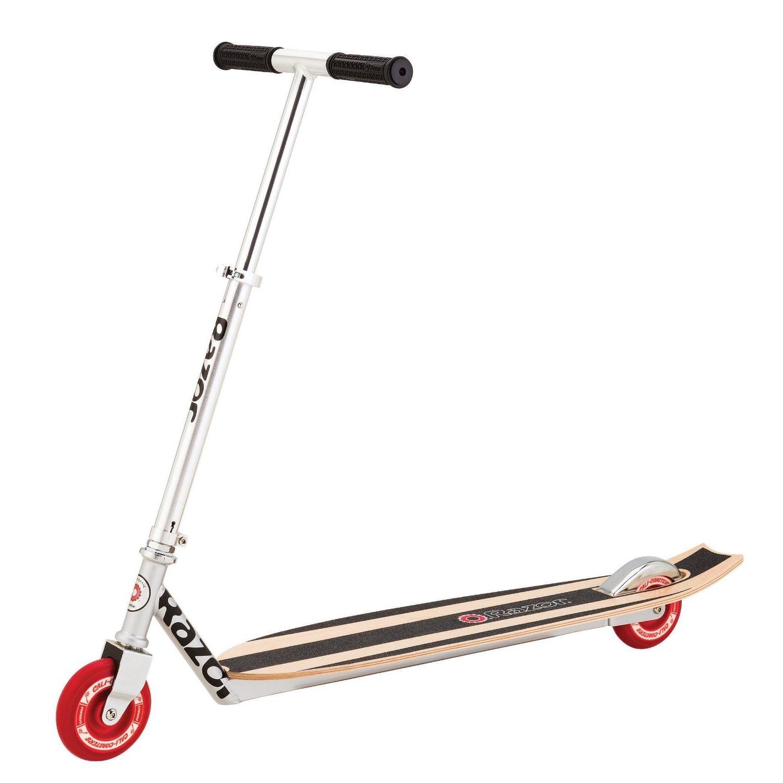 Razor Kids' California Longboard Scooter With Wood Deck a...