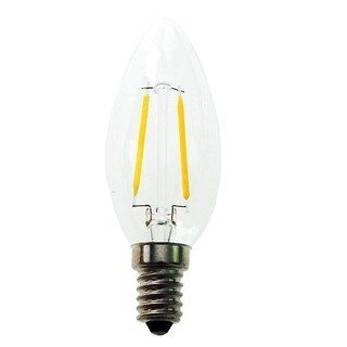 Goodlite® 2.5-Watt LED Candelabra Torpedo Bulb 25-Watt Equiv, Warm White 3000K Dimmable, ULlisted 10 Pack