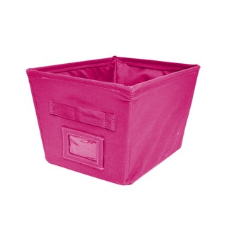 Canvas Polyester Storage Bin