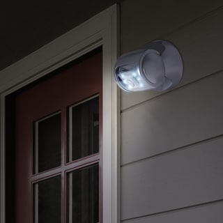Everyday Home 6 LED Light Wireless Motion Sensor - Silver