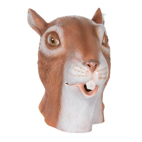 Trademark Innovations Allures and Illusions Squirrel Head Costume Mask
