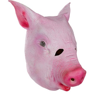 Allures Illusions Giant Animal Masks Pig Head Costume Mask