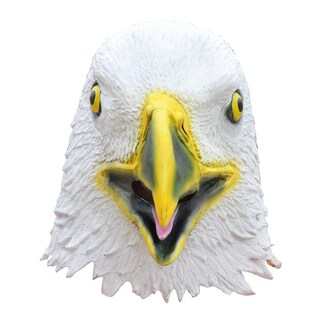 Allures Illusions Synrhetic Fiber Eagle Costume Mask
