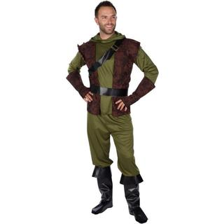 Trademark Innovations Adult Men's Authentic Robin Hood Multicolor Polyester Costume by Capital Costumes (Large)