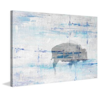 Parvez Taj - 'Buffalo Shadow' Painting Print on Wrapped Canvas