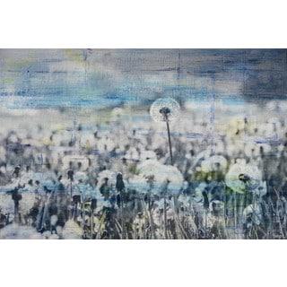 Parvez Taj - 'Dandelion Sea' Painting Print on Wrapped Canvas