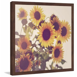 Marmont Hill - 'Sunflowers' Framed Painting Print
