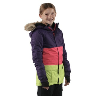 686 Girls Violet Polly Ins Jacket