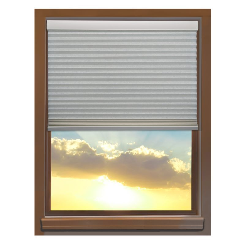 Linen Avenue Custom Cordless 58 to 59-inch Wide Seashell Blackout Cellular Window Shade (59 1/2 W x 60 to 66 H)