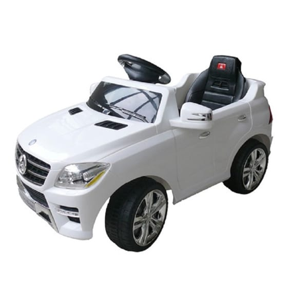 Best Ride On Cars Mercedes ML-350 White 6V Electric Car