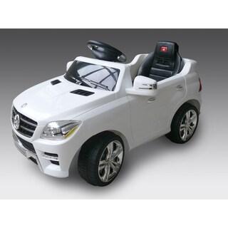 Best Ride On Cars Mercedes ML-350 White 6V Electric Car