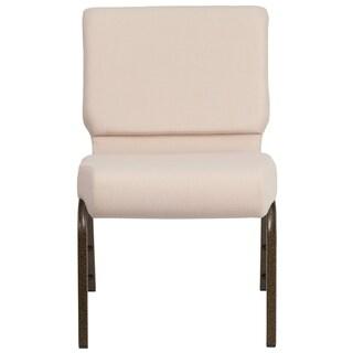 "21""W Stacking Church Chair - Gold Vein Frame"