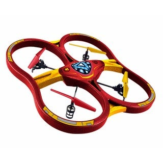 World Tech Toys Marvel Licensed Iron Man 2.4GHz 4.5CH RC Super Drone