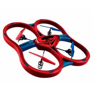 World Tech Toys Marvel-licensed Spider-man 2.4GHz 4.5CH Remote Control Super Drone