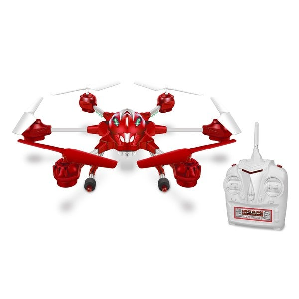 Nano Alpha 2.4 Ghz 4.5-channel Picture and Video Remote Control Quadcopter Spy Drone. Opens flyout.