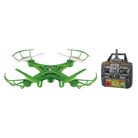 World Tech Toys The Pigs Squak-C opter Angry Birds Licensed 4.5CH 2.4GHz RC Camera Drone